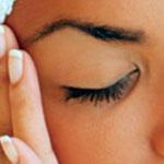 Убираем мелкие морщины в области глаз